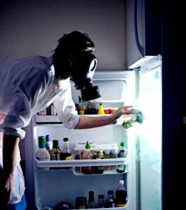 запах холодильник