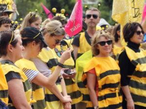 против вымирания пчел